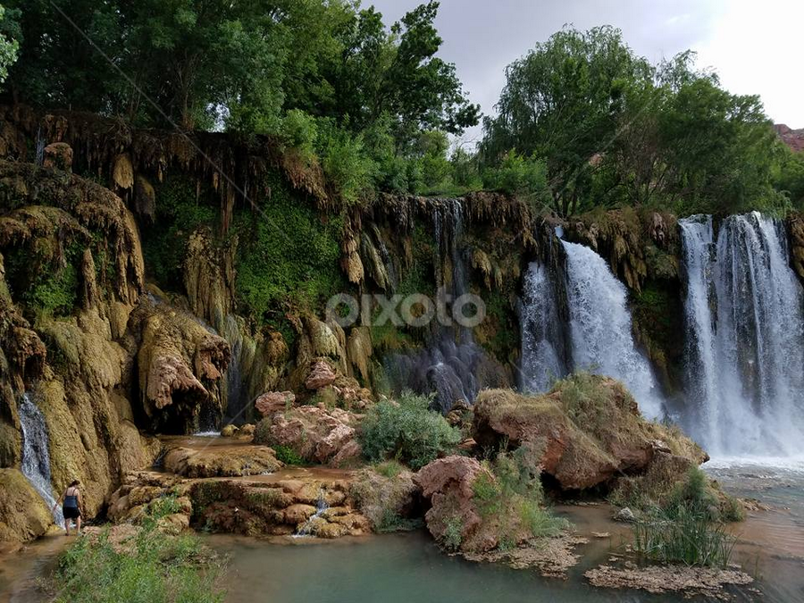 by Tom MostlyGerman - Landscapes Waterscapes ( supai,  )