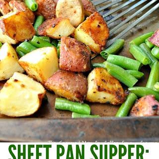 Sausage, Green Beans & Crispy Potatoes Recipe