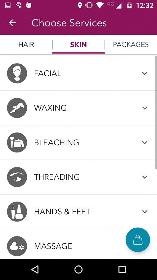 StayGlad Beauty Services @Home- screenshot