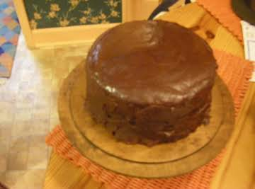 Bonnie Butter Cake with Mama's Fudge Icing--Part 2