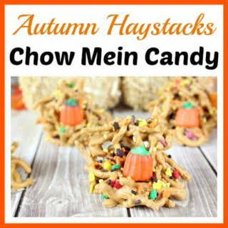 Autumn Haystacks Chow Mein Candy.