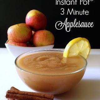 Instant Pot Applesauce in 3 Minutes