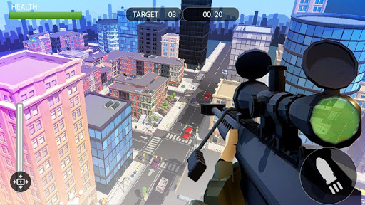 PIXEL SNIPER FORCE GUN ATTACK apkpoly screenshots 6
