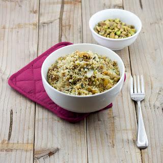 Pistachios and Fig Couscous