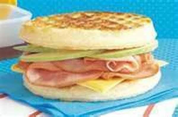 Waffle Apple-wich Recipe