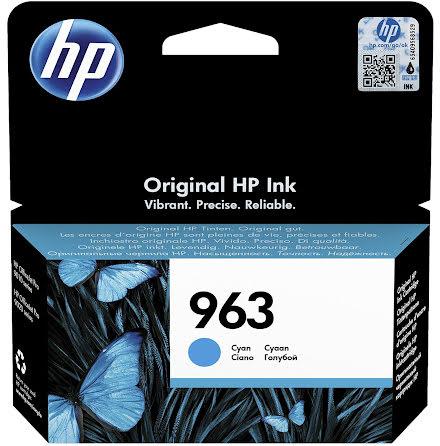 Bläck HP 963 3JA23AE cyan