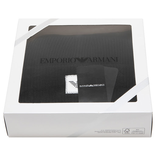 Thumbnail images of Emporio Armani Hat & Scarf Set