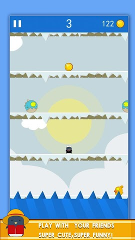android Penguin! Go Jump Screenshot 5