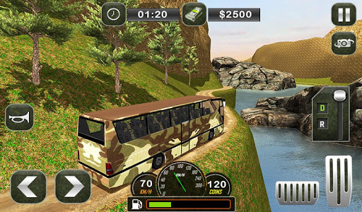 Army Bus Driving 2019 - Military Coach Transporter 1.0.8 screenshots 14