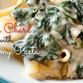 Swiss Chard With Creamy Pasta