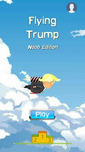 Flying Trump Screenshot