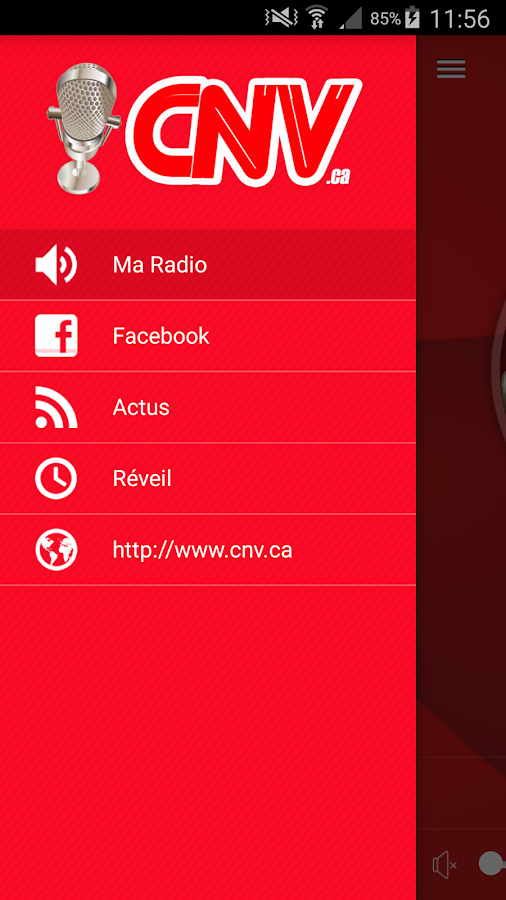 CNV Radio- screenshot