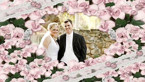 Romantic Wedding photo frames screenshot