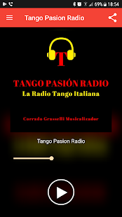 Tango Pasion Radio- screenshot thumbnail