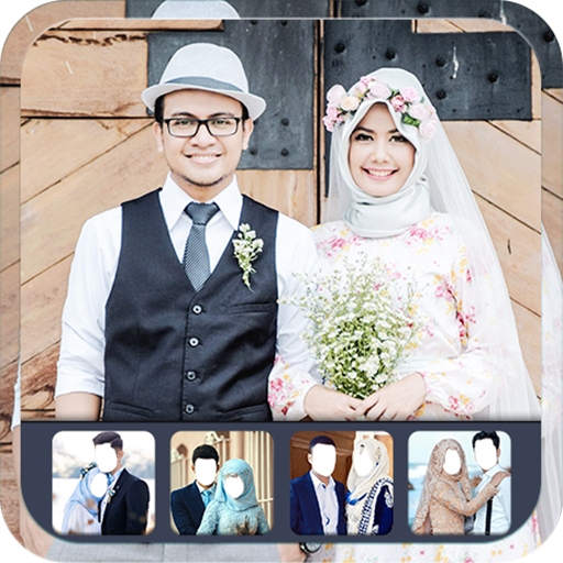 Hijab Wedding Photo Suit