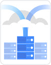 Cloud migration logo