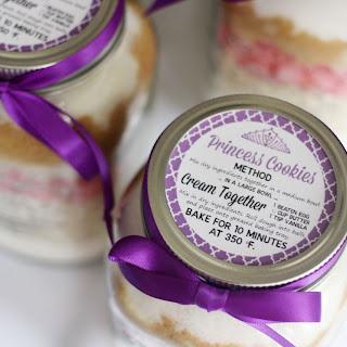 Princess Cookies in a Jar