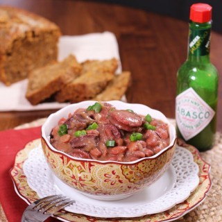 New Orleans Style Red Beans And Rice.