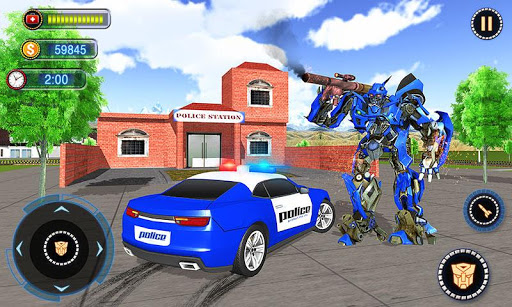 US Robot Car Transform - Police Robot Fighting 1.0.1 screenshots 5