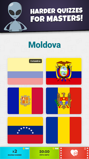 Flags of the World 2: Map - Geography Quiz screenshots 7