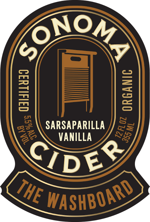 Logo of Sonoma Cider The Washboard - Sarsaparilla Vanilla Cider