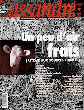 Photo: © Olivier Perrot Couverture Cassandre 52 http://www.horschamp.org