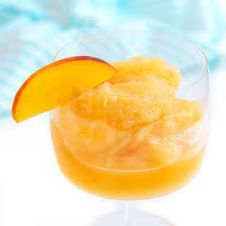 Peach Frosé.