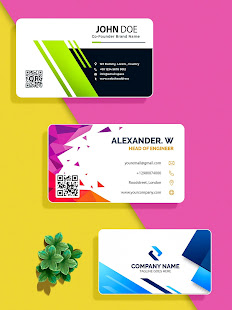 Business Card Maker, Visiting Card Maker