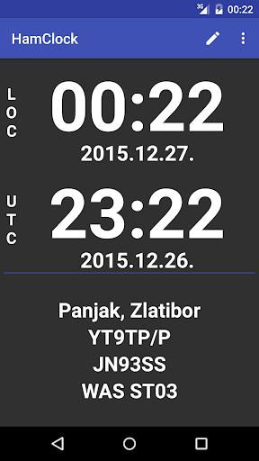 Ham Clock 4.03 screenshots 1