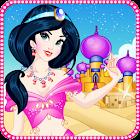 Princesa árabe makeover icon