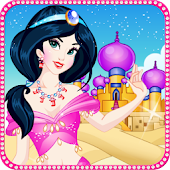 Arabian Princess Makeover