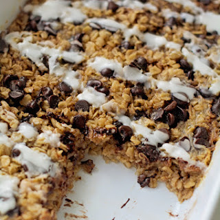 Baked Chocolate Chip Cookie Oatmeal