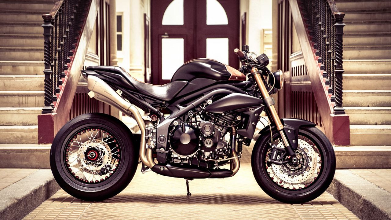 Triumph Speed Triple by Vince Power