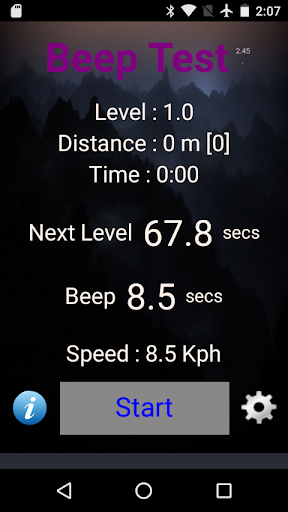 Beep Test 2.84 screenshots 1