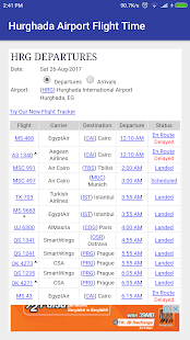 Hurghada Airport Flight Time - náhled