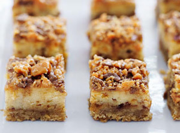 Peanut Butter Crunch Cheesecake Squares Recipe