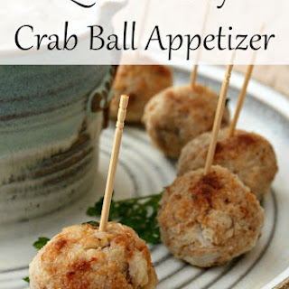 Quick N' Easy Crab Ball Appetizer Recipe