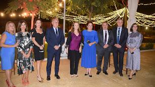 El Colegio de Veterinarios de Almería celebra San Francisco de Asís con la presencia de la subdirectora de LA VOZ, Antonia Sánchez Villanueva.