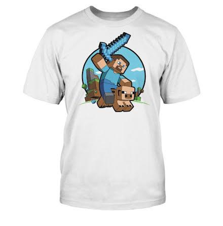 Barn T-Shirt - Pig Riding
