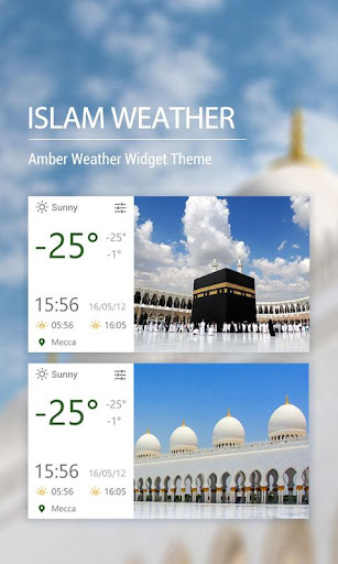 Weather Click Widget Islam