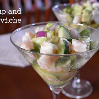 Easy Shrimp & Avocado Ceviche.