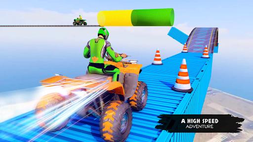 ATV Quad Bike Simulator 2019: Quad stunts Bike 4x4 screenshots 1