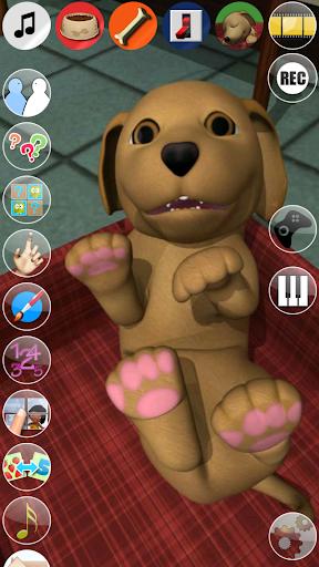 甜說話的小狗:有趣的狗 - Puppy Games Free