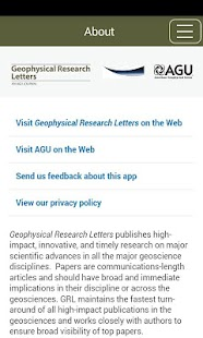 Geophysical Research Letters- screenshot thumbnail