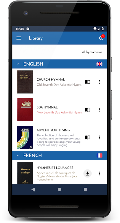 SDA - Sing Hymnals – (Android Apps) — AppAgg