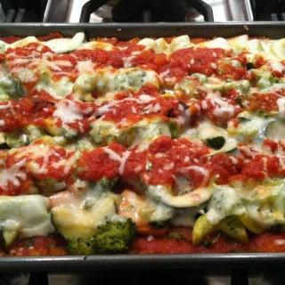 Vegetable Quinoa Lasagna.