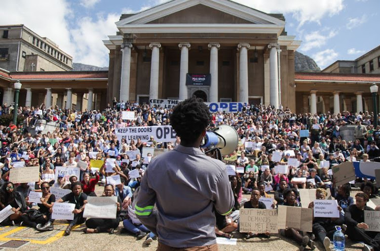 Fees must fall at UCT. File image.