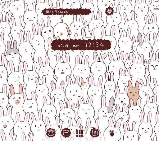 Wallpaper Many Rabbits Theme 1.0.0 Windows u7528 1