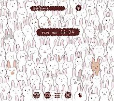 Wallpaper Many Rabbits Theme - screenshot thumbnail 01