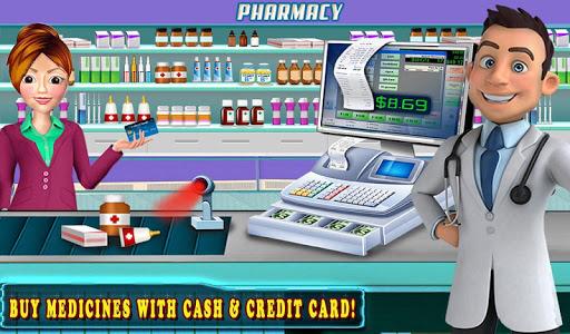 Hospital Cash Register Cashier Games For Girls  screenshots 13